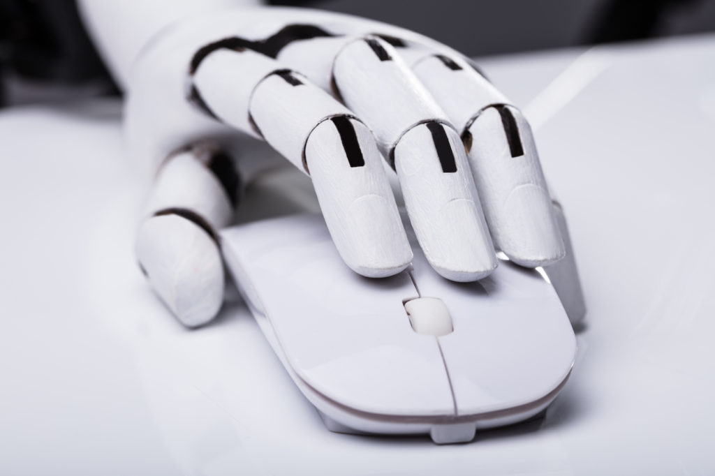 Robot Using Computer Mouse